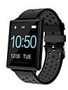 Smart-Armband QF88 fuer Android 4.3 und hoeher / iOS 7 und hoeher Herzschlagmonitor / Blutdruck Messung / Verbrannte Kalorien / Touchscreen / Neues Design Schrittzaehler / Anruferinnerung / Wecker