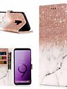 Θήκη Za Samsung Galaxy S9 Plus / S9 Novčanik / Utor za kartice / sa stalkom Korice Mramor Tvrdo PU koža za S9 / S9 Plus / S8 Plus