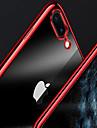 Carcasă Pro Apple iPhone X / iPhone 8 Plus Galvanizované / Průhledné Zadní kryt Jednobarevné Měkké TPU pro iPhone X / iPhone 8 Plus / iPhone 8