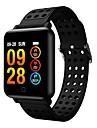 smartwatch m19 frauen maenner herzfrequenz blutdruck bluetooth wasserdicht sport smart armband fuer android ios