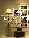 Window Film & Stickers Decoration Christmas Holiday PVC(PolyVinyl Chloride) Window Sticker