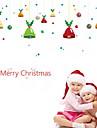Window Film & Stickers Decoration Christmas Holiday PVC(PolyVinyl Chloride) Glossy / Window Sticker