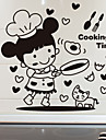 Decorative Wall Stickers - Plane Wall Stickers Characters Kitchen / Dining Room