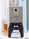 غطاء من أجل Samsung Galaxy J6 / J4 شفاف / نموذج غطاء خلفي قطة ناعم TPU إلى J7 (2017) / J6 / J5 (2017)