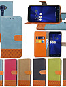 Case For Asus Zenfone 3 Max ZC553KL / Zenfone 3 Max ZC520TL Wallet / Card Holder / with Stand Full Body Cases Tile Hard Textile for Asus Zenfone 3 ZE520KL(5.2) / Asus Zenfone 3 Max ZC553KL / Asus