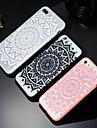 Case Kompatibilitás Apple iPhone X / iPhone 8 Plus Minta Fekete tok Mandala Kemény PC mert iPhone X / iPhone 8 Plus / iPhone 8