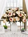 زهور اصطناعية 1 فرع كلاسيكي فردي الزفاف Wedding Flowers الفاوانيا أزهار الطاولة