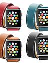 Cinturino per orologio  per Apple Watch Series 4/3/2/1 Apple Cinturino di pelle Pelle / Vera pelle Custodia con cinturino a strappo