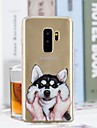 Case For Samsung Galaxy S9 Plus / S9 Transparent / Pattern Back Cover Dog Soft TPU for S9 / S9 Plus / S8 Plus