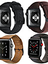 Watch Band for Apple Watch Series 4/3/2/1 Apple Leather Loop Leather / Genuine Leather Wrist Strap
