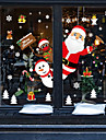 Window Film & Stickers Decoration Animal / Christmas Character PVC(PolyVinyl Chloride) Window Sticker / Adorable / Funny