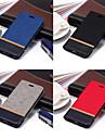 Case Kompatibilitás Apple iPhone X / iPhone 8 Pénztárca / Kártyatartó / Állvánnyal Héjtok Egyszínű Kemény PU bőr mert iPhone X / iPhone 8 Plus / iPhone 8