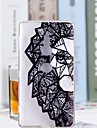 Huelle Fuer Sony Xperia XZ2 Compact / Xperia XZ2 Transparent / Muster Rueckseite Loewe Weich TPU fuer Xperia XZ2 Compact / Xperia XZ2 / Xperia XZ1 Compact