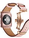 Ремешок для часов для Apple Watch Series 4/3/2/1 Apple Бабочка Пряжка Натуральная кожа Повязка на запястье