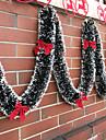 Ünnepi Dekoráció Karácsonyi dekoráció Karácsonyi díszek Dekoratív Arany / színsáv / Piros 1db