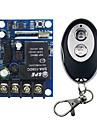 Lerntyp 220V 4-Wege-Fernsteuerungsschalter Metall-Push-Cover Runde 4-Tasten-Funkfernbedienung