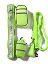 Chiens Tenue / Laisses / Entrainement Portable / Avion-ecole / Taille ajustable Couleur Pleine Polyester Gris / Rouge / Vert