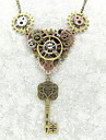 Γυναικεία Κολιέ Δήλωση Gear Μοντέρνο κυρίες Βίντατζ Steampunk Απίθανο Μπρονζέ 56+5 cm Κολιέ Κοσμήματα 1pc Για Night out & ειδική περίσταση Απόκριες