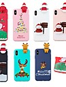 Kılıf Na Jabłko iPhone XS / iPhone XS Max Wzór Osłona tylna Święta Miękka TPU na iPhone XS / iPhone XR / iPhone XS Max