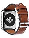 Kalvehaar Klokkerem Strap til Apple Watch Series 4/3/2/1 Svart / Brun / Rosa 23cm / 9 tommer 2.1cm / 0.83 Tommer