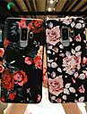 Custodia Per Samsung Galaxy S9 Plus / S9 Effetto ghiaccio / Decorazioni in rilievo / Fantasia / disegno Per retro Fiore decorativo Morbido TPU per S9 / S9 Plus / S8 Plus