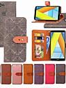 Etui Käyttötarkoitus Huawei Honor 7A / Honor 7C(Enjoy 8) Lomapkko / Korttikotelo / Tuella Suojakuori Tiili Kova PU-nahka varten Honor 7A / Honor 7C(Enjoy 8) / Honor 5A