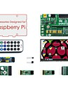 Accessories Pack (type A) for Raspberry Pi, including Expansion Board DVK512, LCD, Modules, and Cables(Raspberry Pi is NOT included)