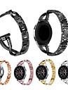 Watch Band na Gear S3 Frontier / Gear S3 Classic Samsung Galaxy Pasek sportowy / Design biżuterii Stal nierdzewna Opaska na nadgarstek