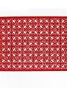 Moderní 75g / m2 polyesterový elastický úplet Obdélníkový Prostírání Odolné vůči horku Stolní dekorace
