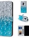 ケース 用途 Samsung Galaxy S9 Plus / S9 ウォレット / カードホルダー / スタンド付き フルボディーケース カラーグラデーション ハード PUレザー のために S9 / S9 Plus / S8 Plus