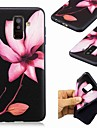 غطاء من أجل Samsung Galaxy A8 Plus 2018 / A7 (2018) نموذج غطاء خلفي زهور ناعم TPU إلى A6 (2018) / A6+ (2018) / A7(2018)