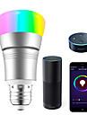 έξυπνος led λαμπτήρας 7w wifi έξυπνος bulbsrgb λευκό dimmable χρωματιστό smartphone ελεγχόμενο φως ημέρας λευκό νυχτερινό φως δεν χρειάζεται κόμβος χρειάζεται εργασία με amazon echo alexa google home