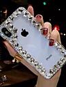 Carcasă Pro Apple iPhone XR / iPhone XS Max S kamínky / Průhledné / Udělej si sám Zadní kryt Štras Měkké TPU pro iPhone XS / iPhone XR / iPhone XS Max