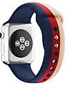 Watch kapela pro Apple Watch Series 4/3/2/1 Apple Sportovní značka Silikon Poutko na zápěstí