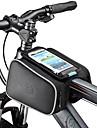ROSWHEEL Bag Cell Phone / Marsupio triangolare da telaio bici 5.5 pollice Schermo touch Ciclismo per Samsung Galaxy S4 / iPhone 5/5S / iPhone 8/7/6S/6 Nero