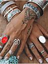 Γυναικεία Λευκό Πεπαλαιωμένο Στυλ Δαχτυλίδι Σετ δαχτυλιδιών Ακρυλικό Κράμα Numbăr Φτερό Μοντέρνο Etnic Μοντέρνα Μπόχο Μοδάτο Δαχτυλίδι Κοσμήματα Ασημί Για Πάρτι Καθημερινά Δρόμος Γενέθλια 7pcs