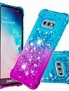 Case Kompatibilitás Samsung Galaxy S9 Plus / S8 Plus Ütésálló / Folyékony Fekete tok Csillogó / Színátmenet Puha TPU mert S9 / S9 Plus / S8 Plus