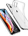 Kılıf Na Jabłko iPhone XS / iPhone XS Max Odporny na wstrząsy / Ultra cienkie / Transparentny Osłona tylna Solidne kolory Miękka TPU na iPhone XS / iPhone XR / iPhone XS Max